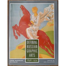 Book Defining Russian Graphic Arts 1898 - 1934