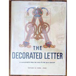 Book The Decorated Letter Editions Du Chene, Paris 1950