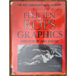 Book Felicien Rops Graphics Irreverent and Erotic