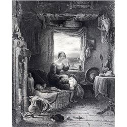 W. MULREADY, R.A. Museum Engraving S.C. Hall, 1855