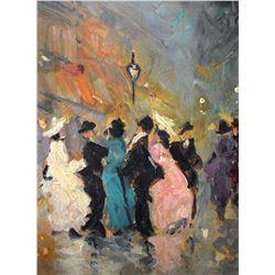 JEANNETTE DESEGLISE (1919 – 2008) French Street
