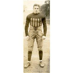 Antique / Vintage Photo Football Denison 1927