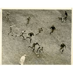 Antique / Vintage Photo Football Holy Cross 1930