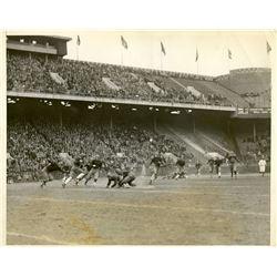 Antique / Vintage Photo Football Temple 1927