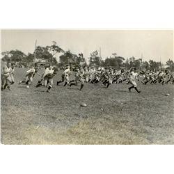 Antique / Vintage Photo Football U. Penn 1920s