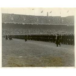 Antique / Vintage Photo Football Navy 1928