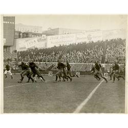 Antique / Vintage Photo Football Princeton Harvard 1929