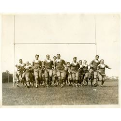 Antique / Vintage Photo Football New York 1930