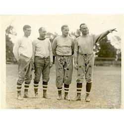 Antique / Vintage Photo Football Brown 1926