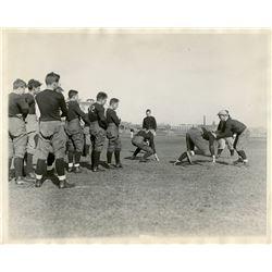 Antique / Vintage Photo Football Harvard 1929