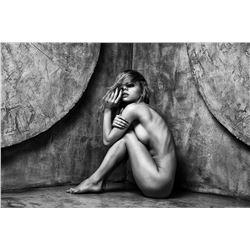 ALINA LEBEDEVA, Russia, Original Lustre Paper, Nude Signed Stamped 1/250