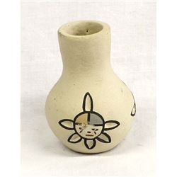 Native American Nambe Pottery Vase by Gutierrez