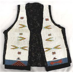Vintage Native American Beaded Vest