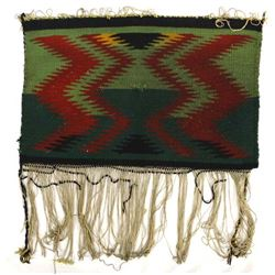Vintage Navajo Germantown Wool Textile Rug