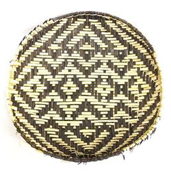 Large Native American Cherokee Sifter Basket