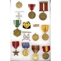 Collection of World War II Military Medals