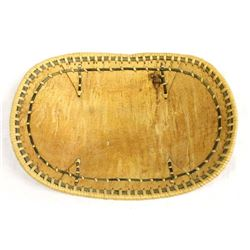 Native American Birch Bark Basket by Elsie Titus