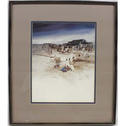 Framed Michael Atkinson Print ''Descending Day''