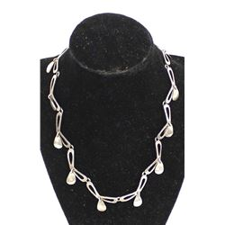 Vintage Taxco Sterling Silver Necklace