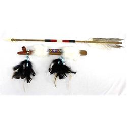 Beaded Pipe and Arrow