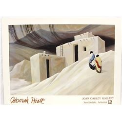 1988 ''Journey Home'' Print by Deborah Hiatt