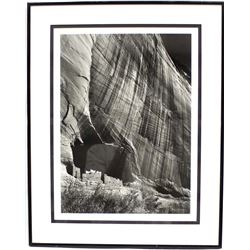 Canyon de Chelly Monument River by Ansel Adams
