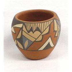 Native American Jemez Pottery Bowl by Chinana