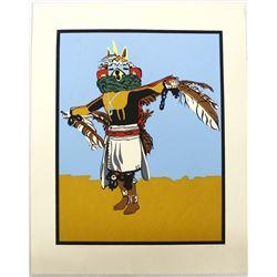 1974 Limited Edition Print ''Eagle Kachina Dancer''