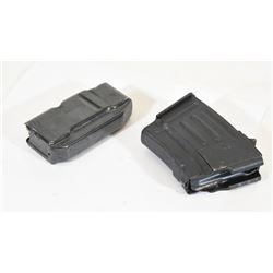 Two Magazines - Short AK and Remington SA