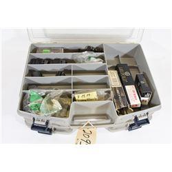Gun Parts in Plastic Case.