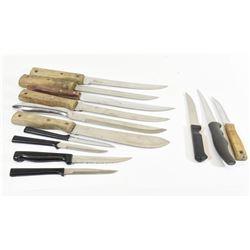 Lot of Kitchen Knives