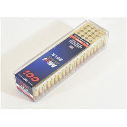 100 Rounds CCI Mini Mag 22LR Ammo