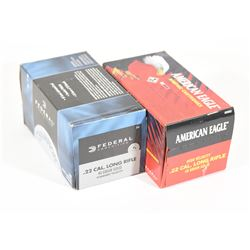 1000 Rounds 22 Cal. 40 Grain Solid Point Ammo