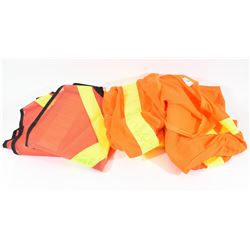 Three Reflective Safety Vests