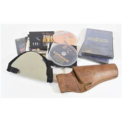 Assorted CDs & DVDs, Holster, Soft Case