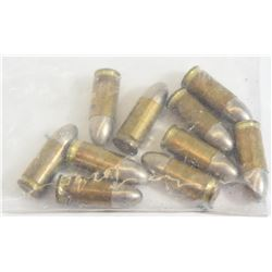 10 Rounds German Factory Military 9mm Luger Ammo