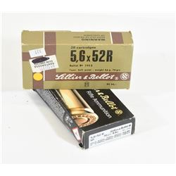 22 Savage High-Power (5.56x52R) Ammunition