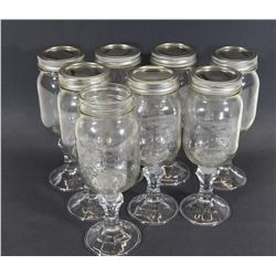 8-Piece Hillbilly Wine Glass Set