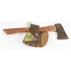 Mastercraft Hatchet with Leather Sheath