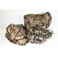 Camo Shooting Bag and Hunting Equipment
