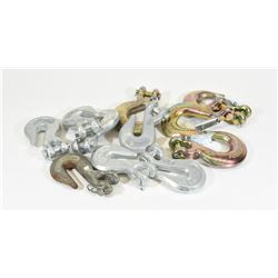 """11 Forged Clevis Hooks 3/8"""""""
