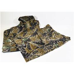 Combat Style Camo Jacket and Pants Size Large