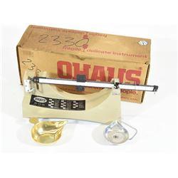 Ohaus Powder Scale