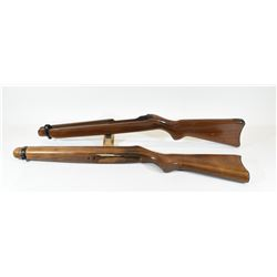Two Wooden Ruger 10/22 Stocks