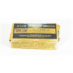 45 Rnds. 32 S & W  C.F. Ammunition