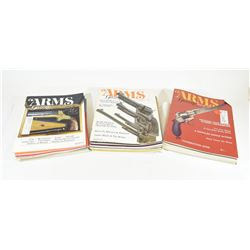 Box of 35 Issues of Arms Gazette Magazine