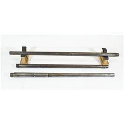 3 Winchester Rifle Barrels