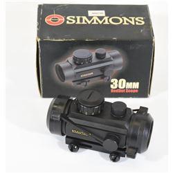 Simmons 30mm Red Dot Scope Model 800879