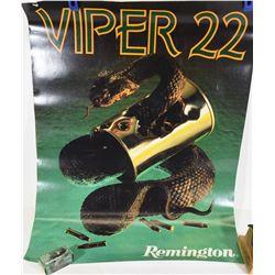 Remington Poster and Ammunition