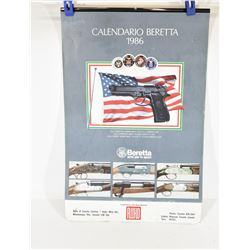 Beretta 92 F Full Size Announcement Calendar